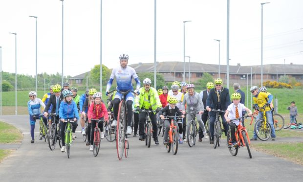 The park was opened in by round the world cyclist Mark Beaumont in 2018.
