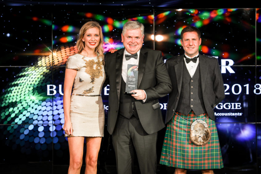 Dundee Family Business of the Year, Gillies.