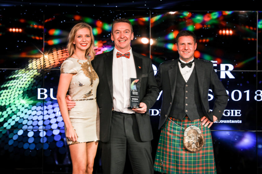 Fife Family Business of the Year, Allson Wholesale.