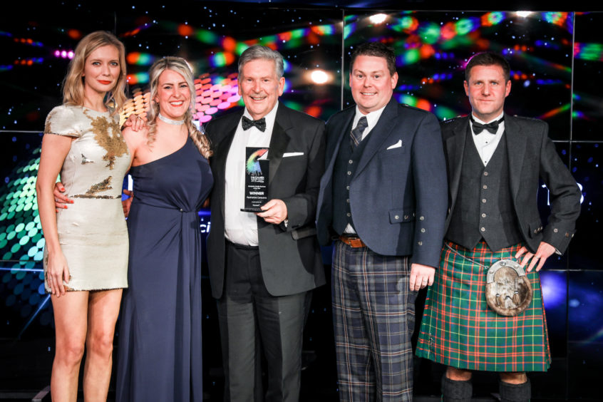 Retail Business of the Year, Perthshire Caravans.