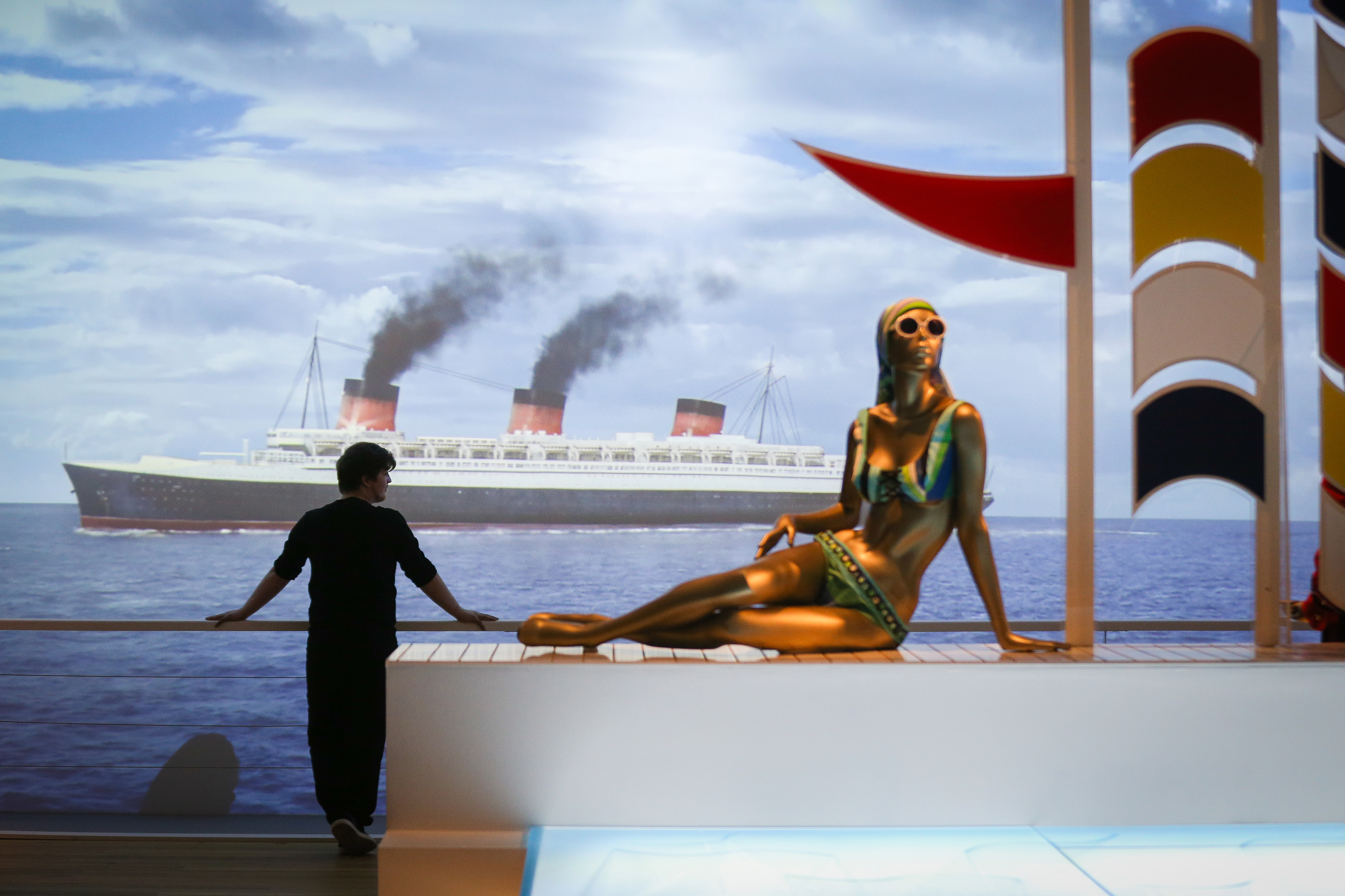 The Ocean Liners exhibition at V&A Dundee.