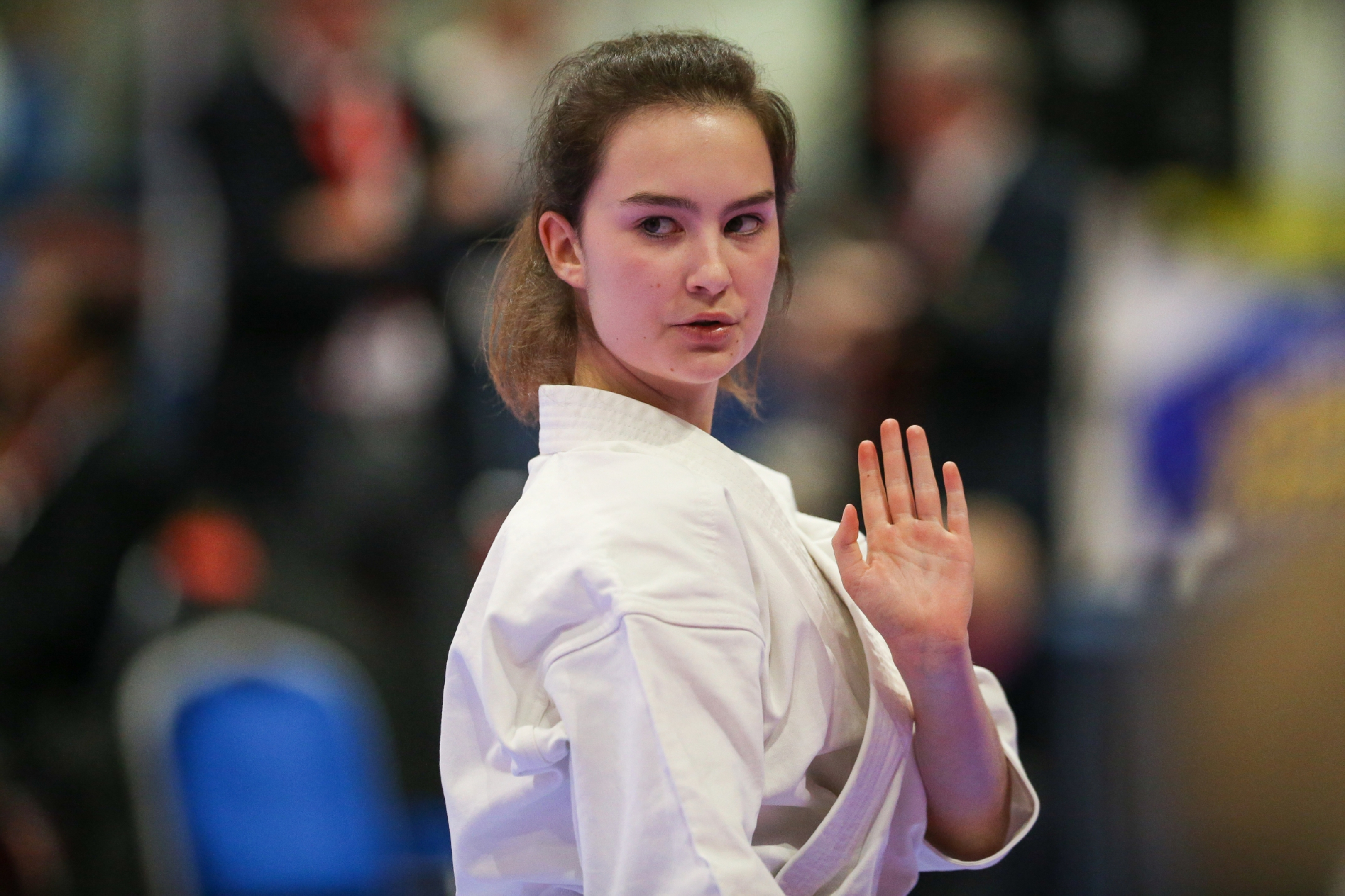 Action from last year's World Championships.