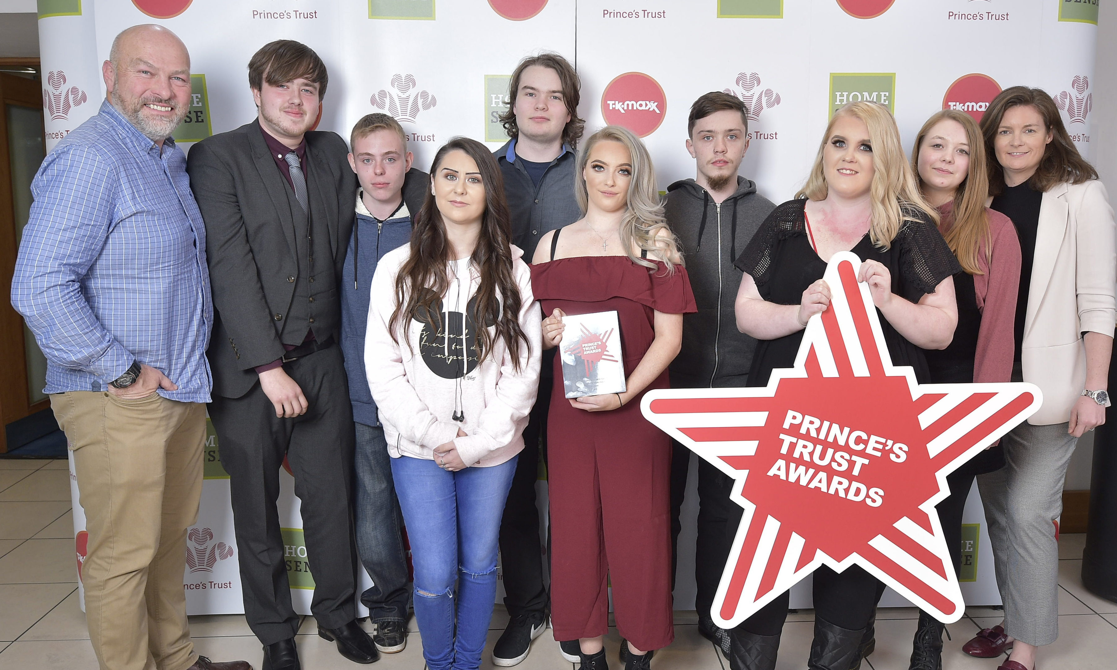 Perth YMCA with their Prince's Trust award