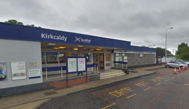 Kirkcaldy Railway Station.