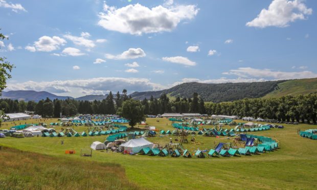 Scout camps normally look like this.