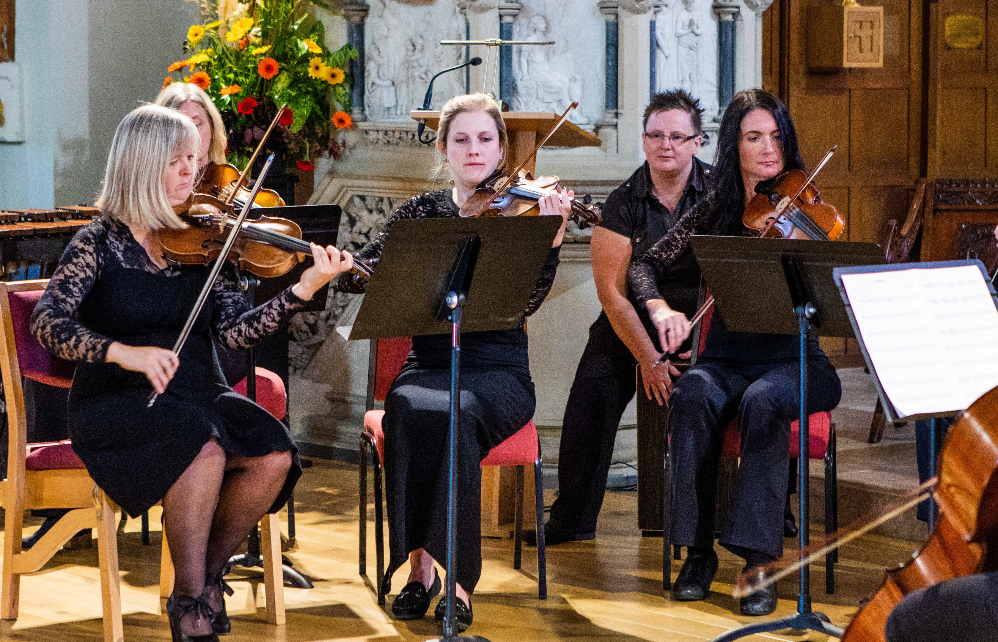 The Making Music Magic fundraising concert at St Johns Episcopal Church.