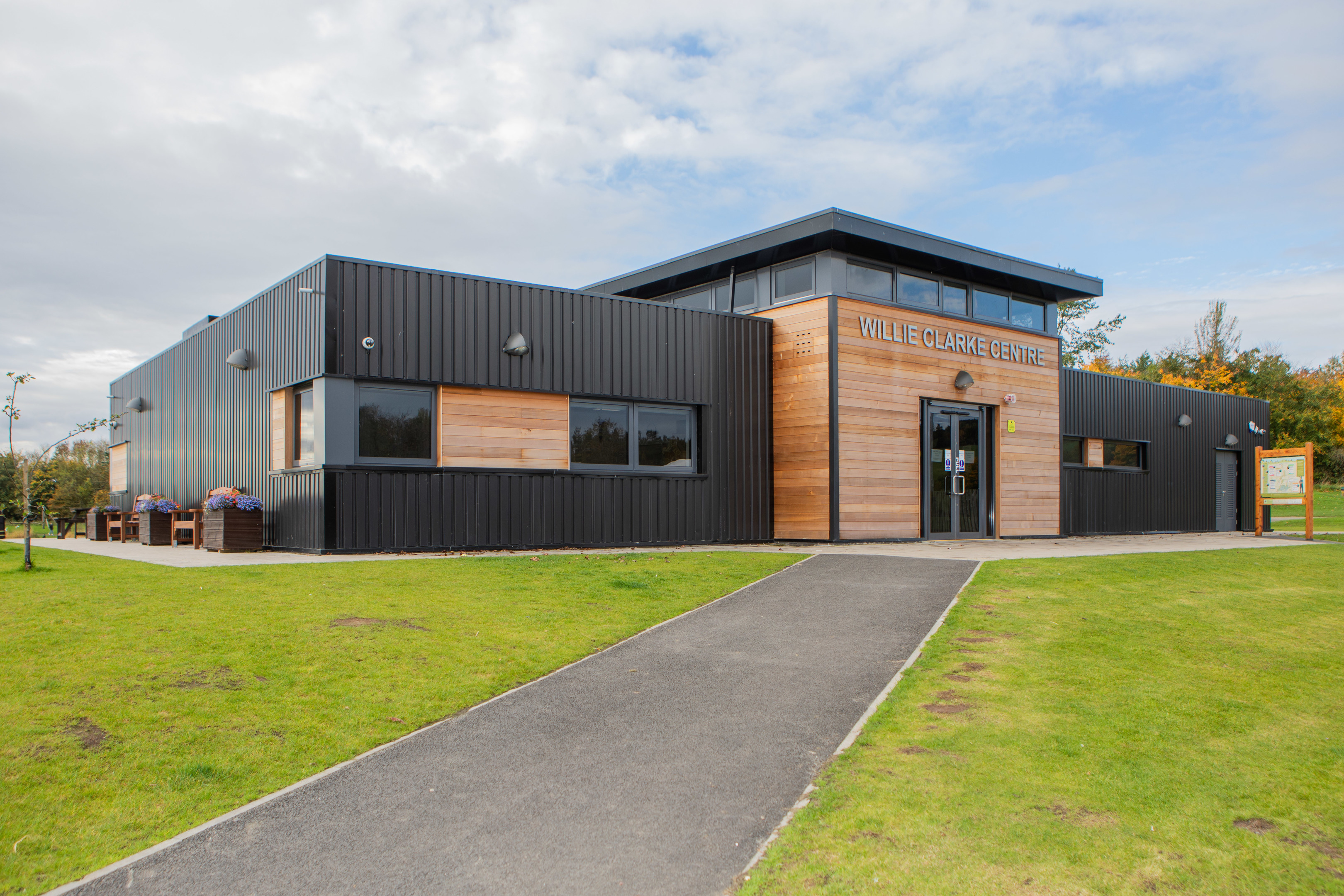 The William Clarke Centre, near Lochgelly, has been closed to the public.