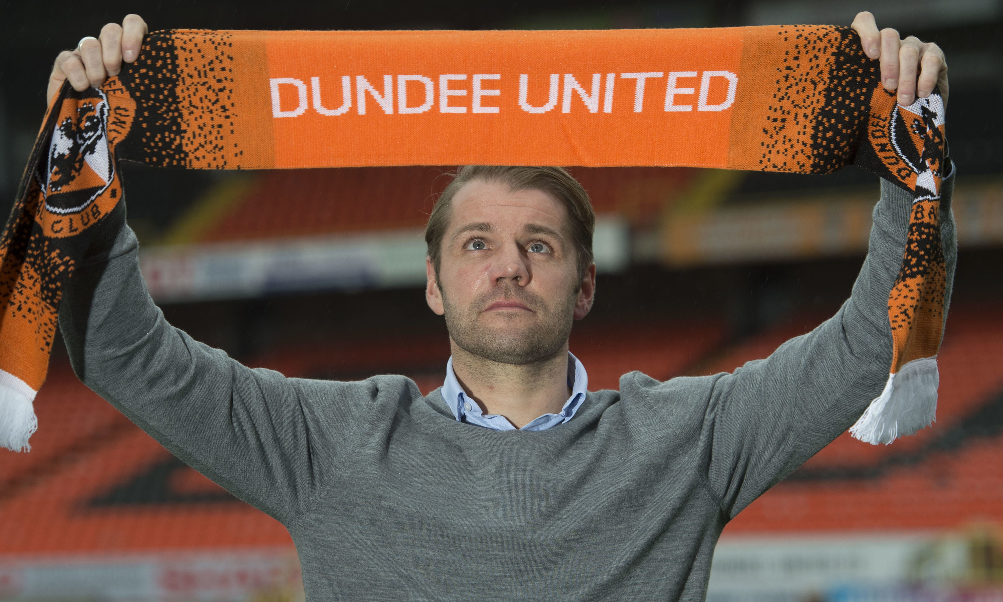 Robbie Neilson joined Dundee United in 2018.
