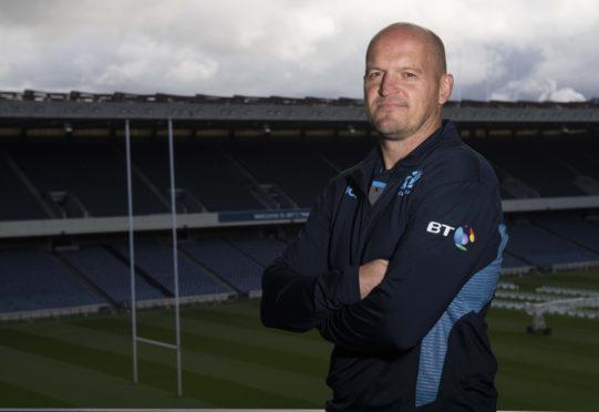 Scotland's Head Coach Gregor Townsend.