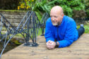 Paul Hewitt from Glenrothes has built a replica Forth Rail Bridge for his garden using his skills as a metalworker.