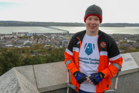 Rob Wilson walked from Tay Bridge to the Law