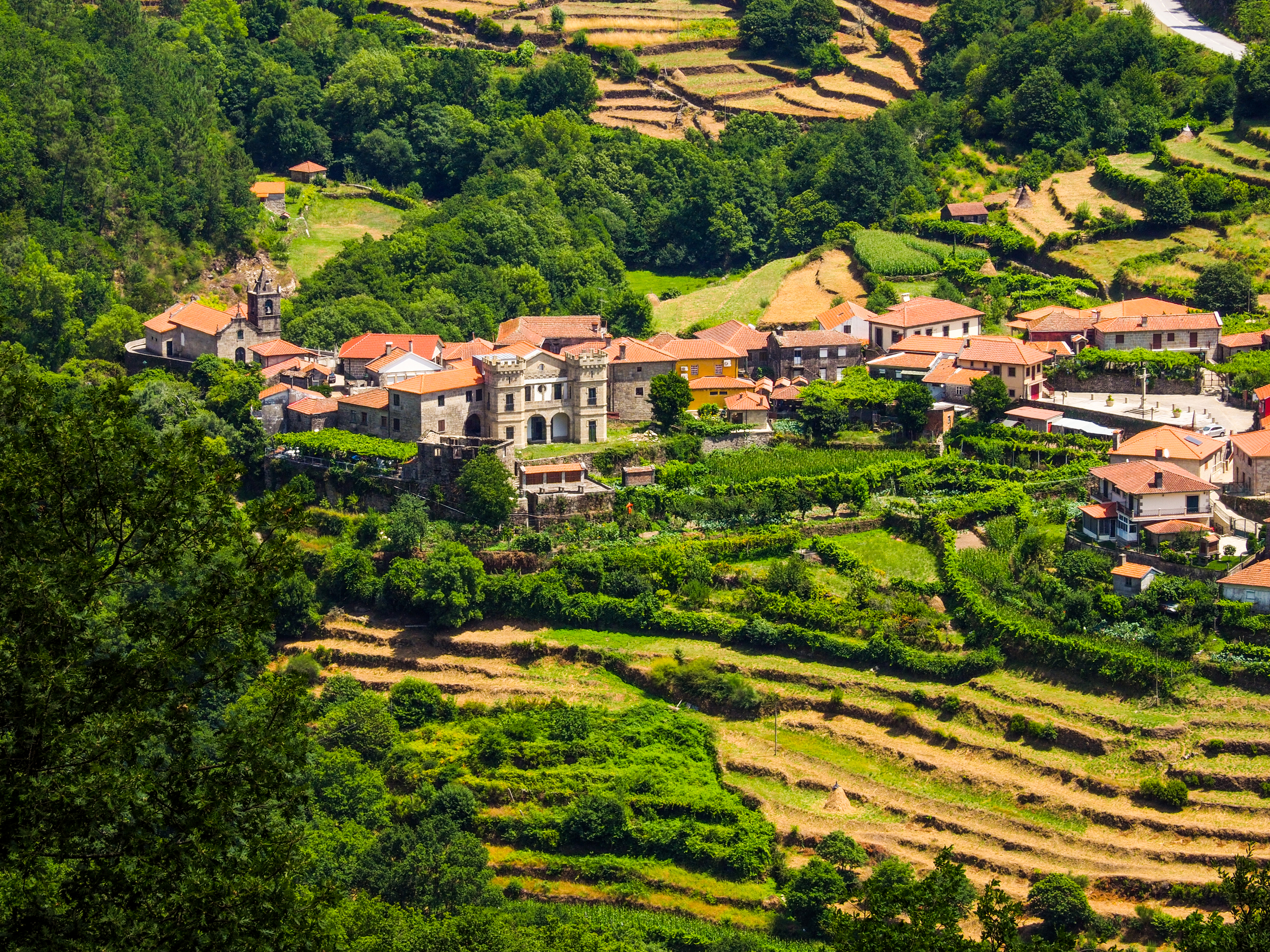 """Sistelo, also known as """"little Portuguese Tibet"""", is one of the highlights of northern Portugal."""