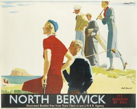 North Berwick – It's Quicker by Rail.