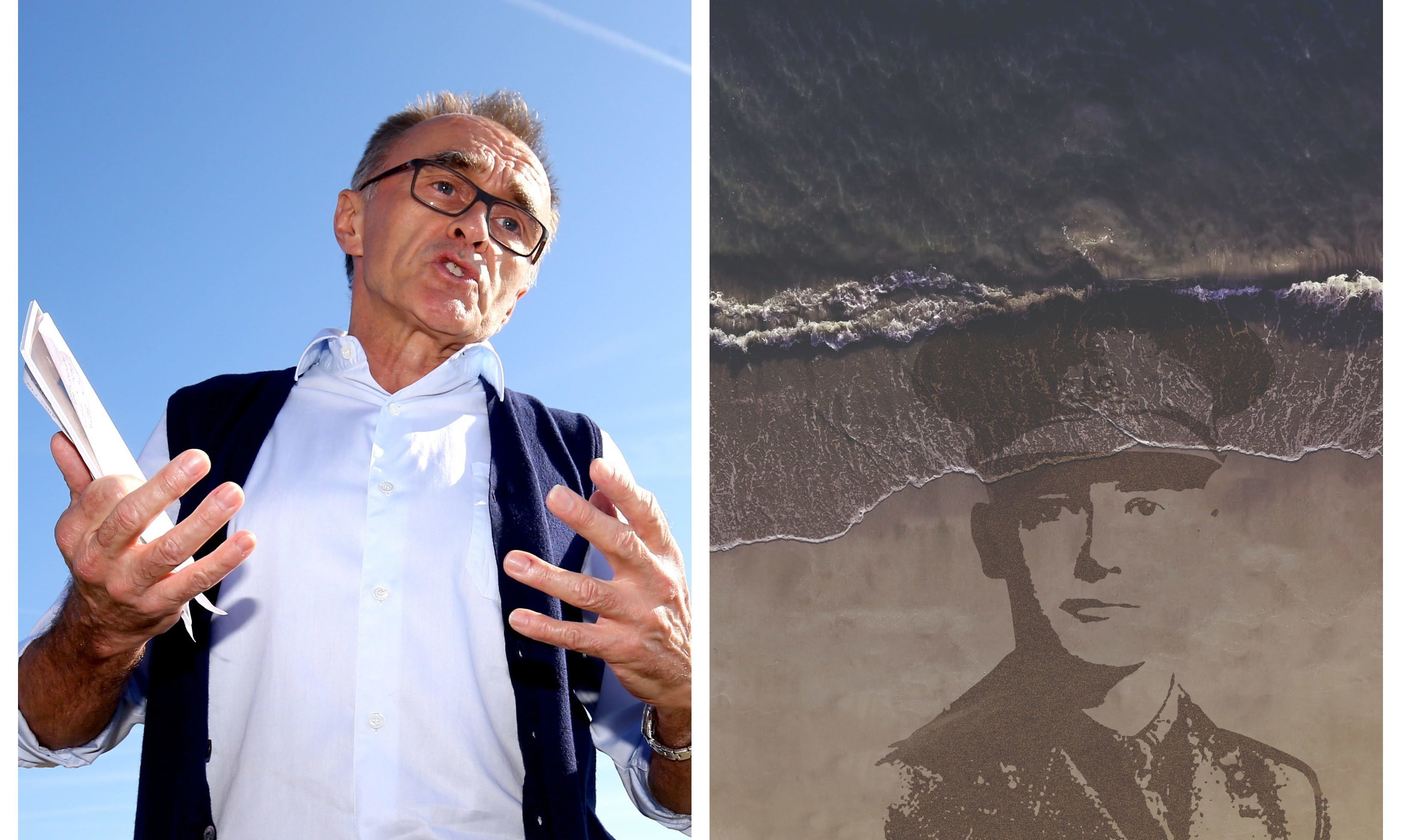 One of the artworks by Danny Boyle will take shape at West Sands, St Andrews.