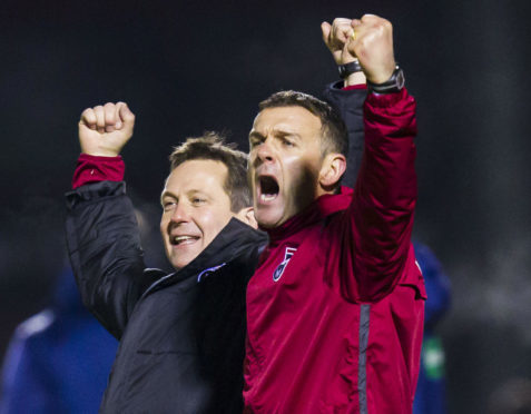 Billy Dodds and Jim McIntyre.