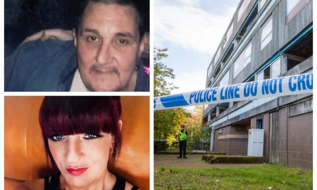Thomas Meechan and Shelley Morrison were found dead at the flat.