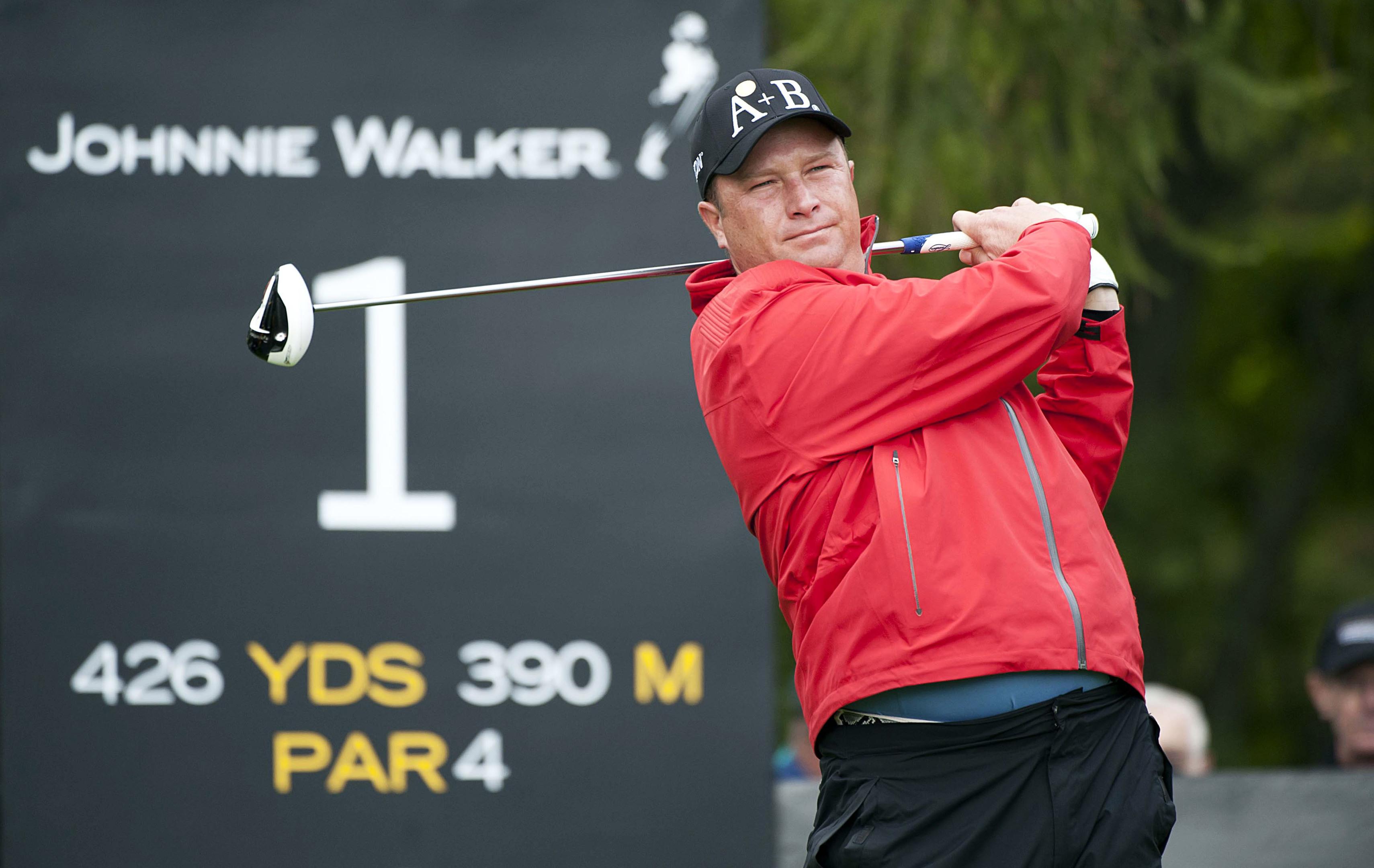 Greig Hutcheon won his third Scottish PGA Championship at Gleneagles.
