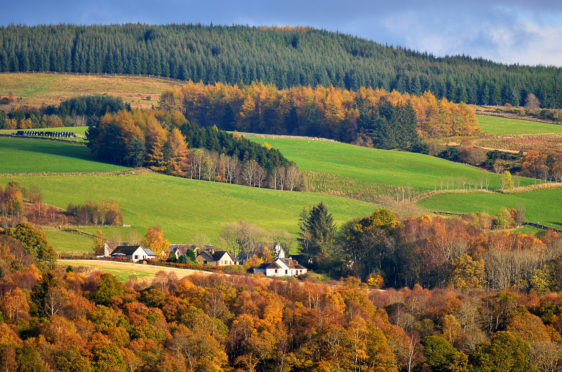 Scottish farmers earn among the lowest support rates in Europe.