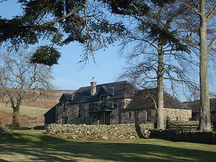 Auchmull lodge in Glen Esk was the overall winner of the last awards in 2008