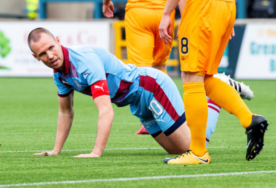 Kenny Miller's return to Livingston wasn't a happy one.