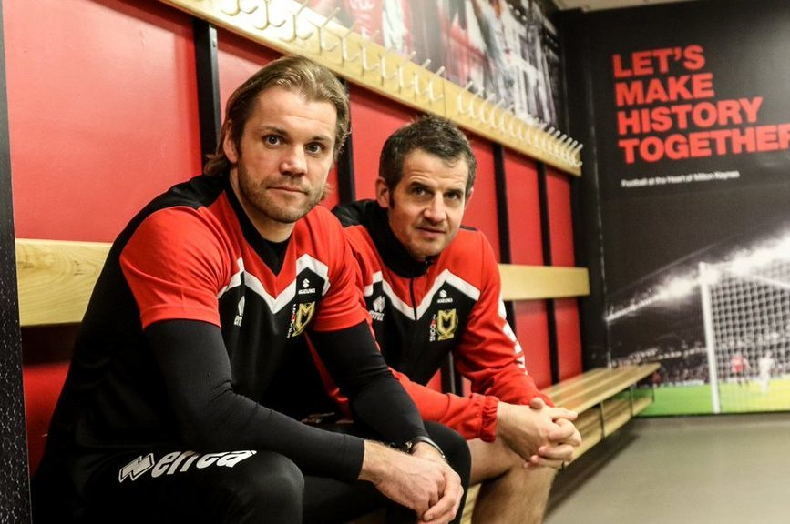 Robbie Neilson and Stevie Crawford.