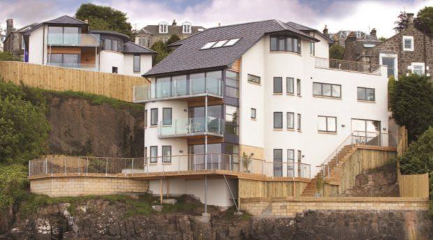 The £735,00 house.