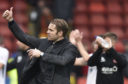 One game and one win for new United boss Robbie Neilson.