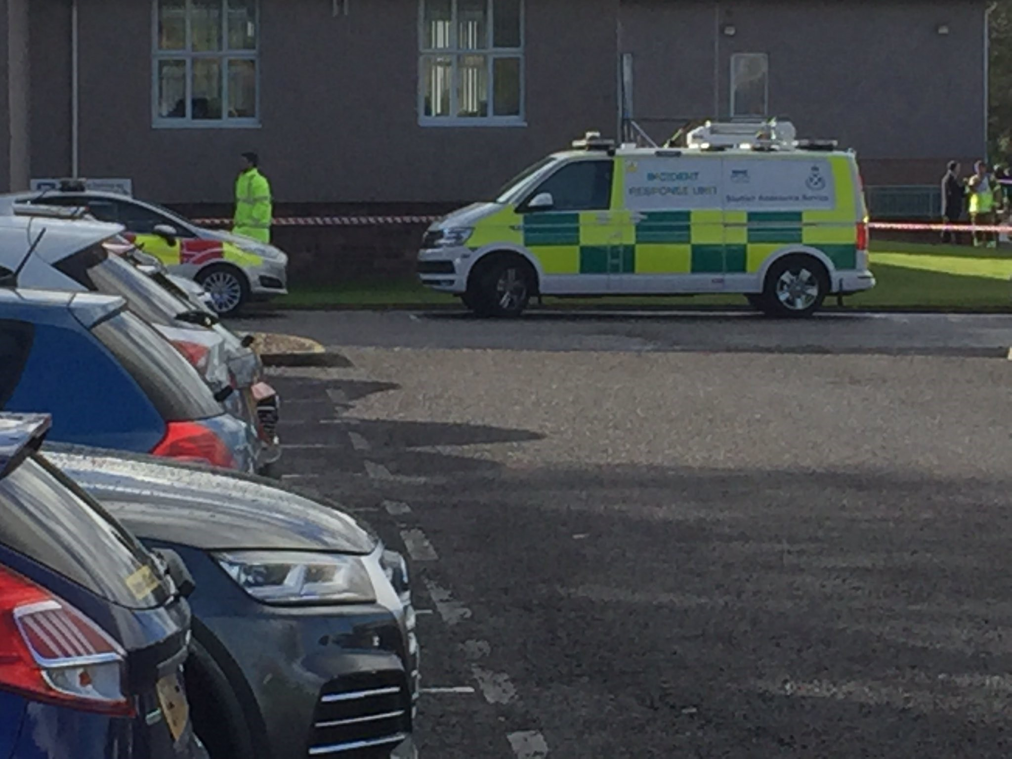 Emergency services at Stracathro