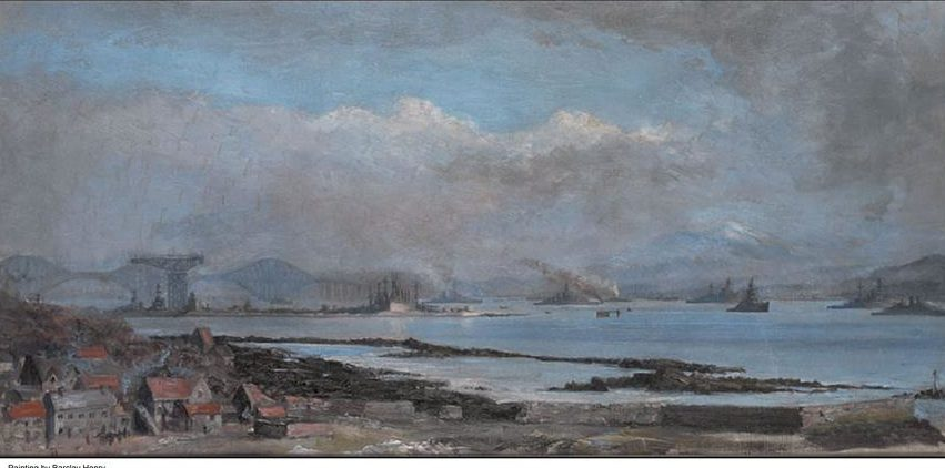 The Grand Fleet in the Forth