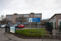 Youths were seen throwing fireworks close to Longhaugh Primary School