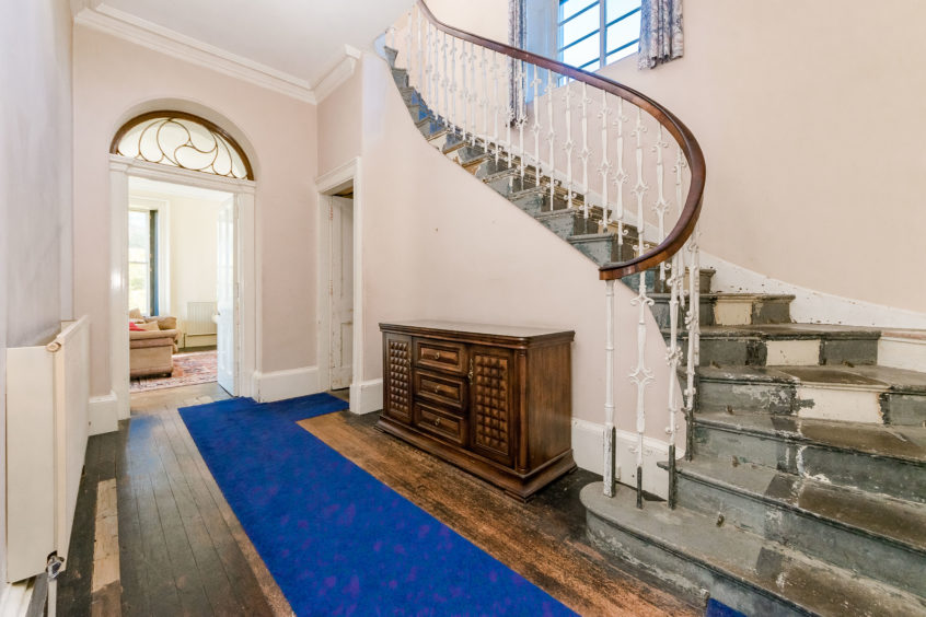 Features including the staircase have been described as among the building's most historic original features.