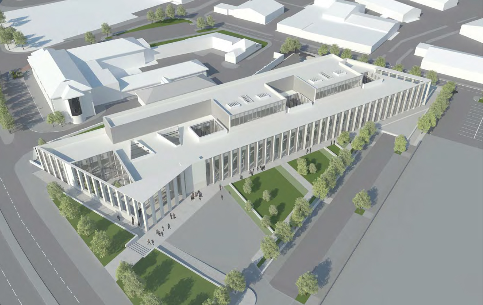The new Inverness Justice Centre is taking shape - and we now need a commitment to something similar here.