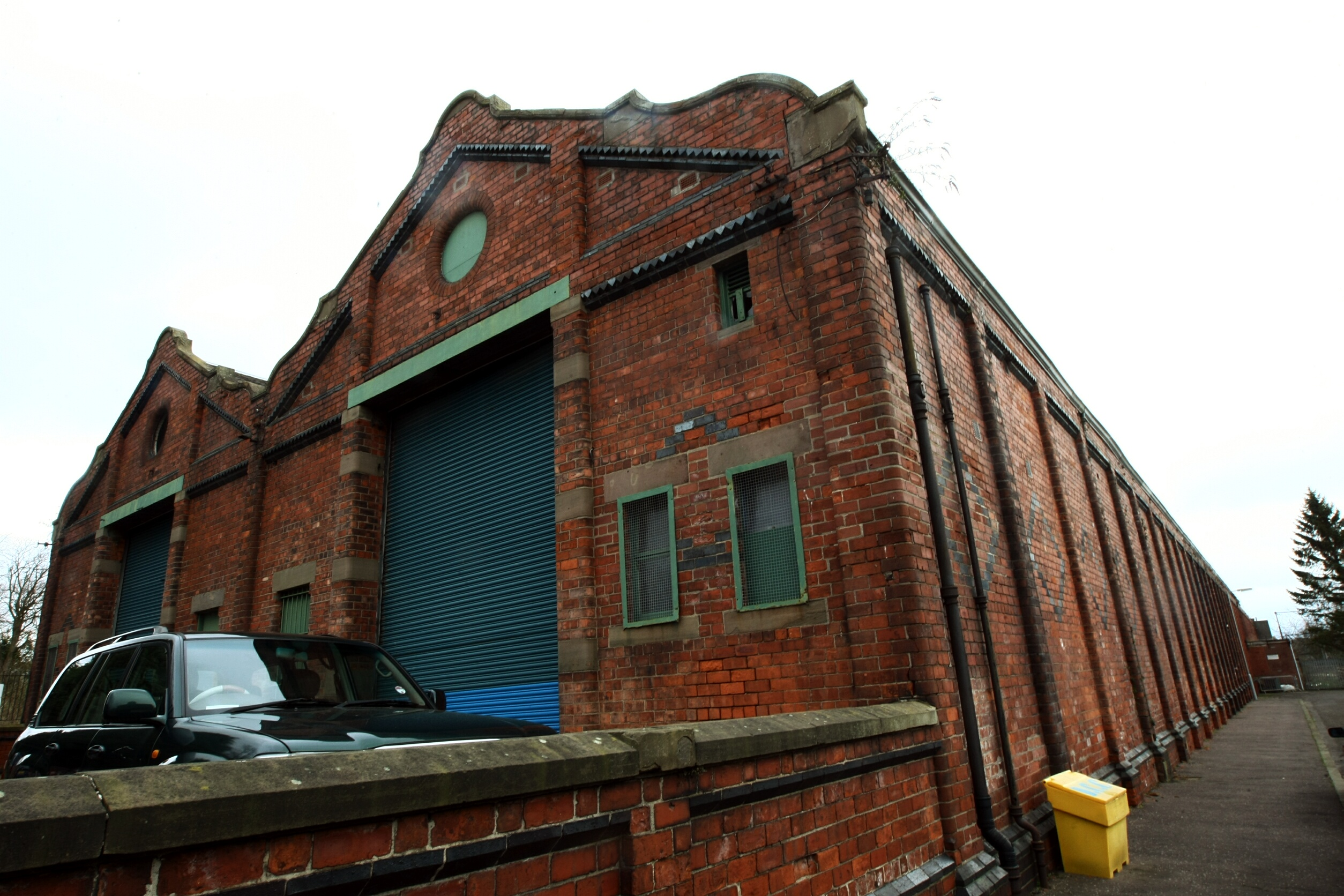 The former tram depot in Stobswell.