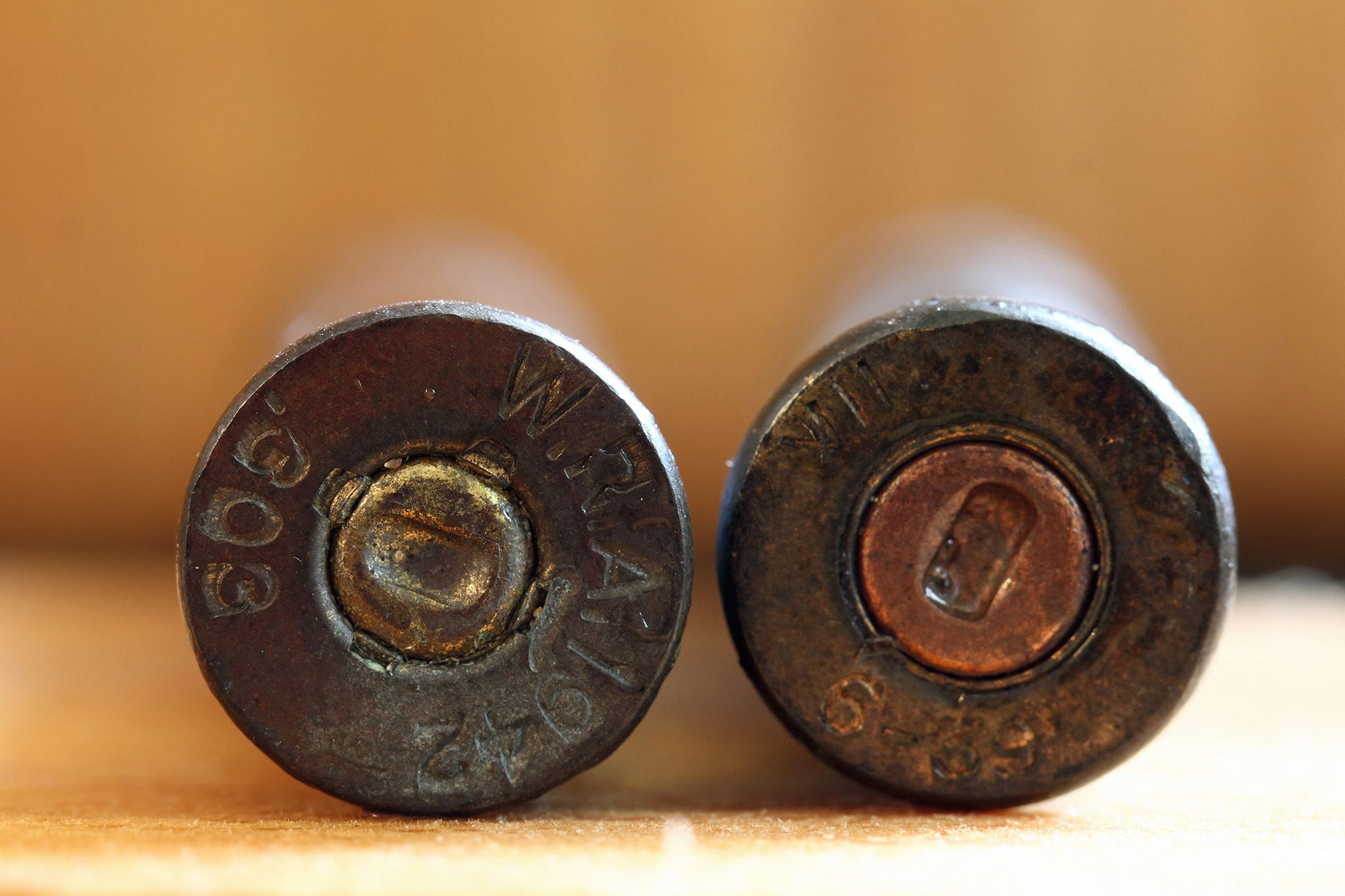 The bullets which were discovered.