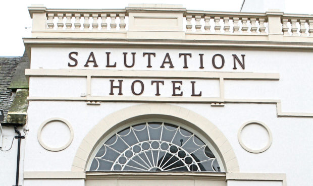 David Robinson worked at the Salutation Hotel in South Street, Perth.