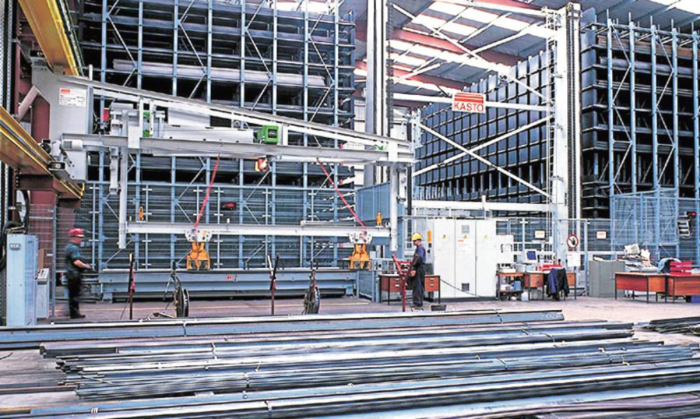 Brown & Tawse Dundee's automated tracking and retrieval system