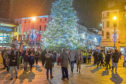 The 2018 Christmas lights switch-on in Dundee.