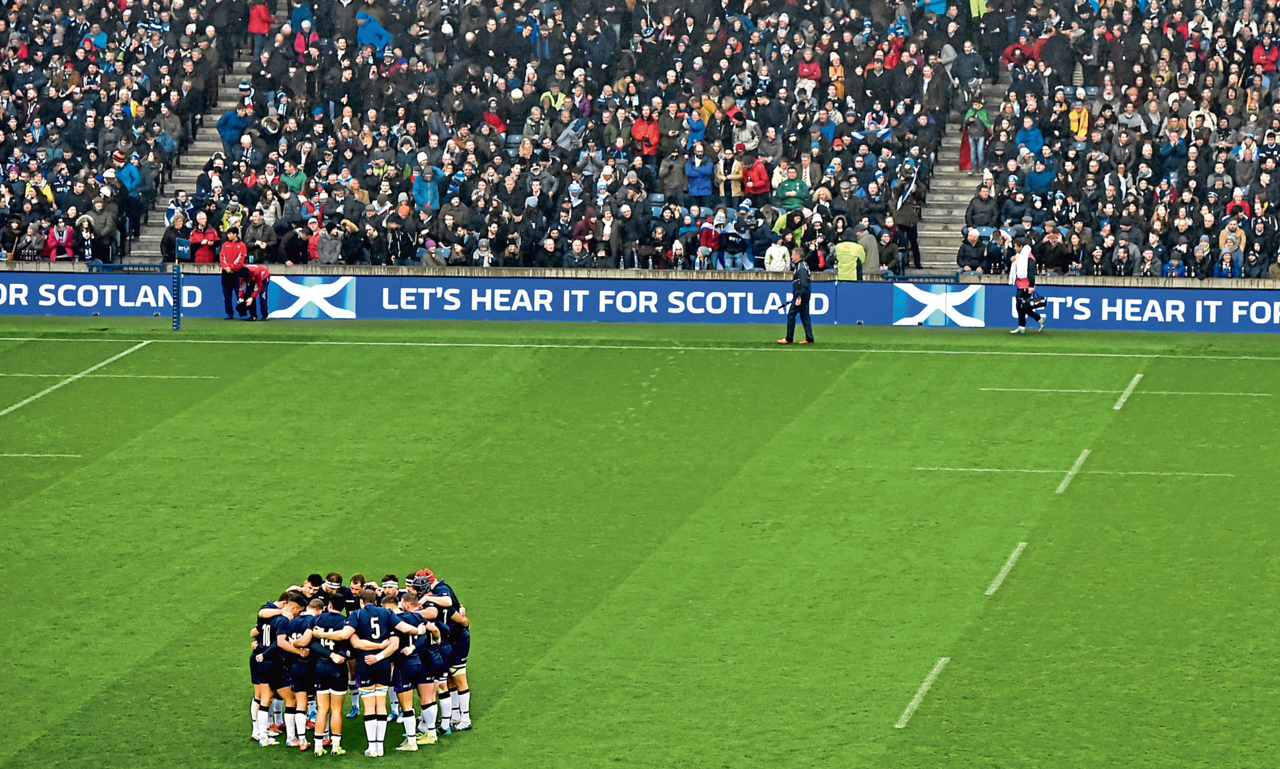Scotland at Murrayfield.