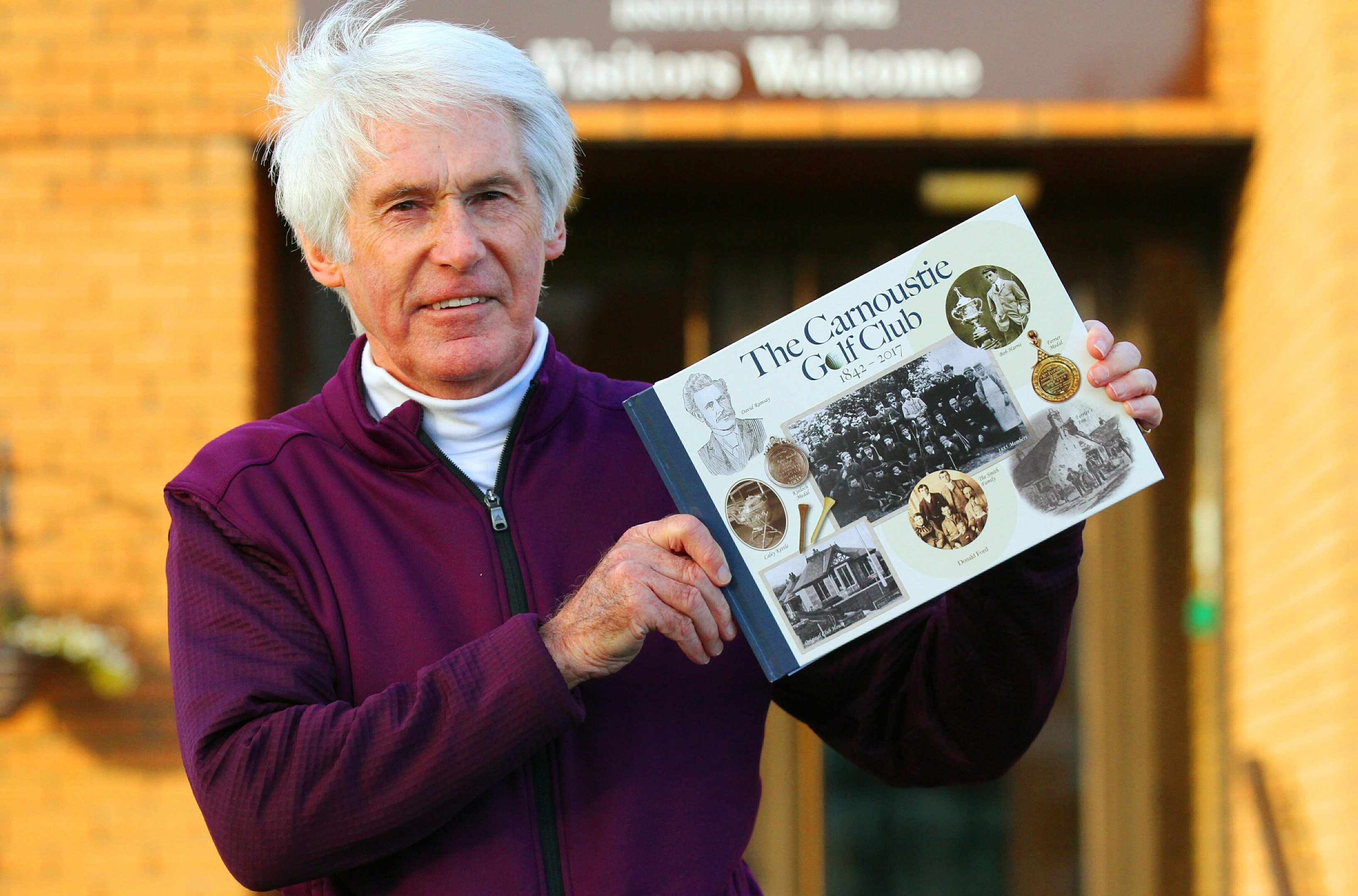 Carnoustie Golf Club by golf historian Donald Ford