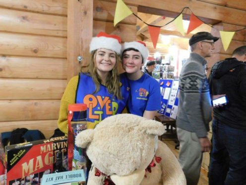 LoveOliver ambassador Jasmine Doyle (right) with Jade Dowie, who inspired her work with the charity