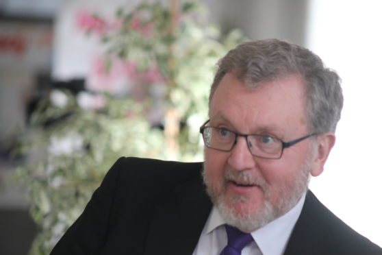 Scottish Conservative MP David Mundell.