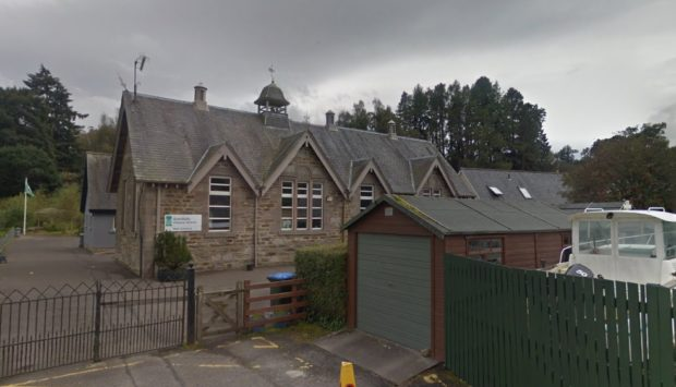Grandtully School has had a huge increase in its school roll