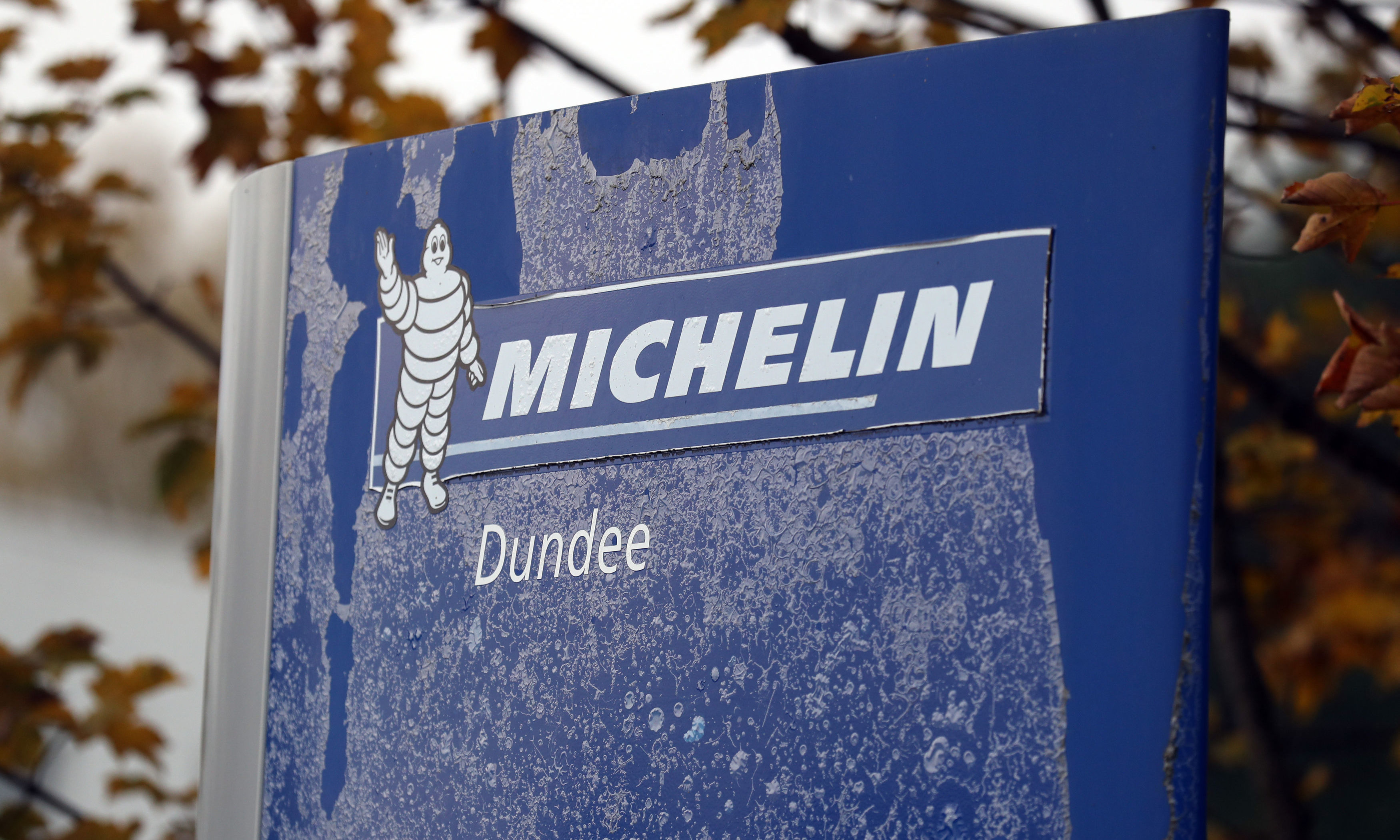 Nearly 850 jobs will go when the Michelin Dundee factory closes