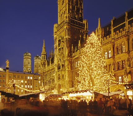 The Christmas Markets in Munich date back to the 14th Century.