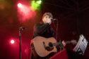 X-Factor winner James Arthur performs in Perth.