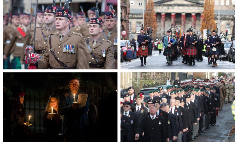Remembrance ceremonies across Courier country on November 11, 2018.