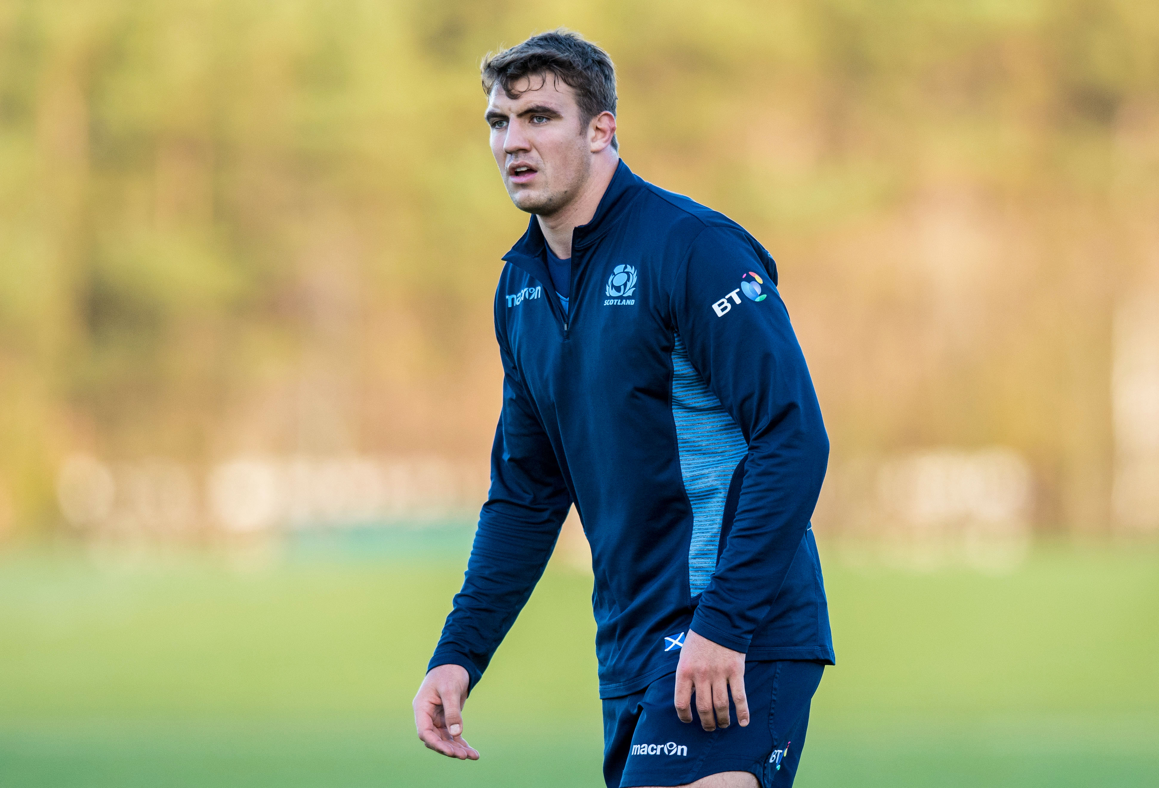 Sam Skinner will play in the second row for Scotland.