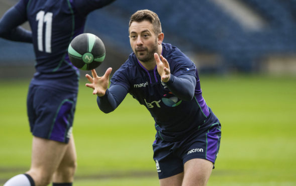 """Greig Laidlaw will be the """"Dad"""" again for Scotland with a new midfield combination against Argentina again."""