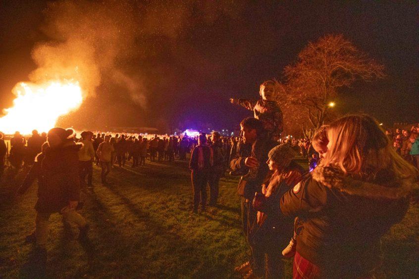 Burntisland fireworks.