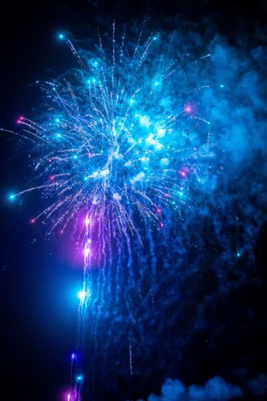 The Burntisland fireworks display.